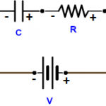 Current-Voltage relationship in Capacitor