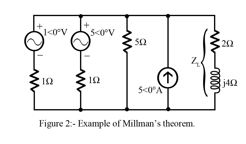 millman u2019s theorem for ac networks